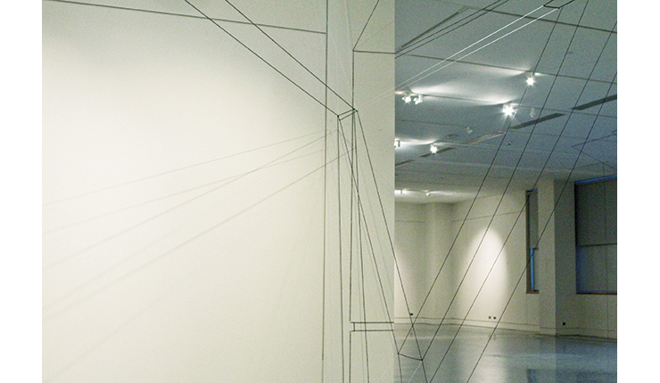 Gregor Roth, ACPL Installation #22013, String and Yarn, Installation, February 2013